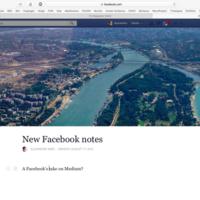 Facebook también quiere ser tu blog, y rediseñará Notas para competir con Medium