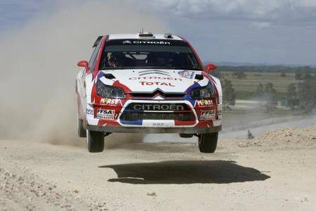 Sébastien Ogier primer líder del Rally de Australia