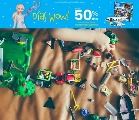 Días Wow en Toys 'r us con descuentos de hasta el 50% en marcas como Hot Wheels, Pinypon o Lego