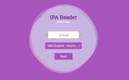 IPA Reader