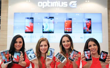 LG define su estrategia con cuatro líneas de terminales