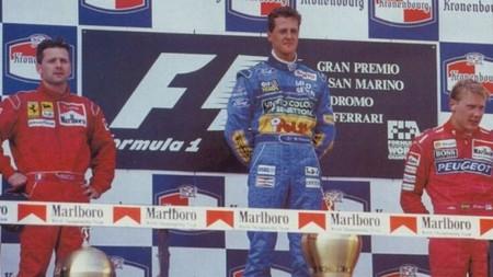 Schumacher Hakkinen Imola F1 1994