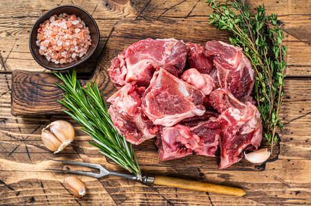 carne de cabrito cortes temporada primavera cordero