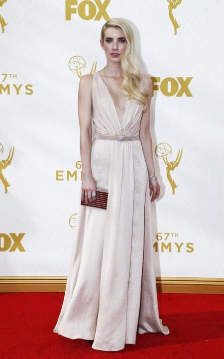 Emma Roberts Emmys 2015 2