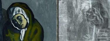 La IA ha ayudado a recrear una obra de arte que había estado oculta bajo una pintura de Pablo Picasso durante casi 120 años