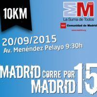 Madrid corre por Madrid, una prueba solidaria y placentera