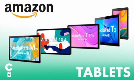 Amazon te adelanta el Black Friday con estas tablets de Samsung y Huawei a precios rebajados
