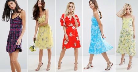 Vestidos Flores Rebajas 2