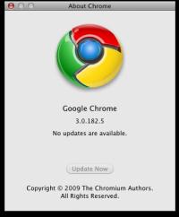 About de Chrome