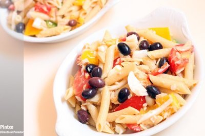 Siete ensaladas ligeras con pasta, ideales para esta temporada