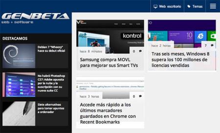 Presentamos la nueva versión para tablets de Genbeta