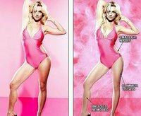 Britney Spears deja que la veamos sin Photoshop