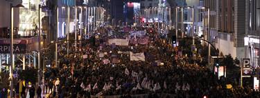¿Cuál ha sido la mayor manifestación feminista de la historia? La de ayer en España