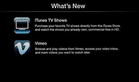Apple TV 4.3, redescargas de contenido y acceso a Vimeo