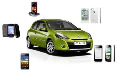 Aplicaciones (para el coche) para teléfonos avanzados