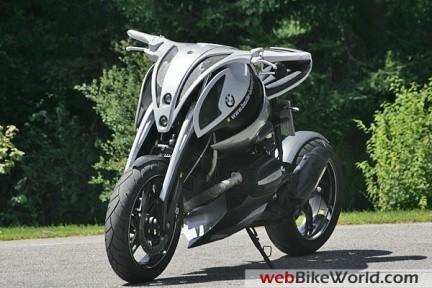Beutler Future BMW Concept, asi serán las motos en 2020