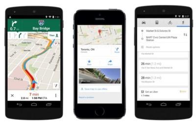 Google Maps para Android e iOS se actualiza: mejora el modo offline, integra Uber y más