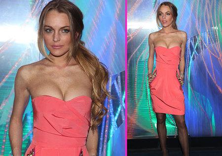 Lindsay Lohan habla sobre su pérdida de peso