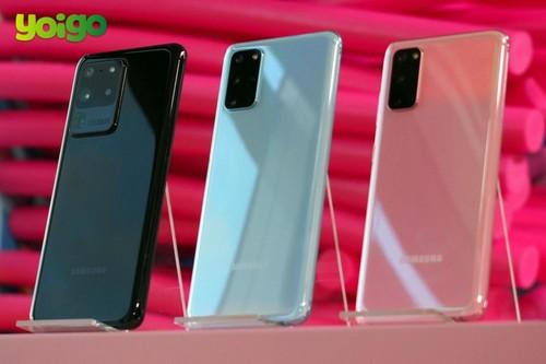 Precios Samsung Galaxy S20+ 5G y S20 Ultra con tarifas Yoigo
