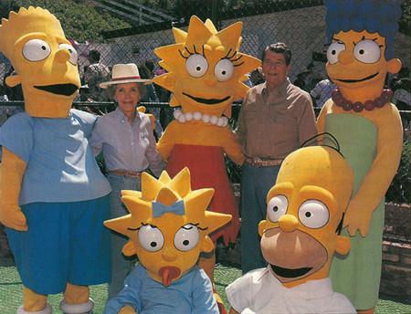 Los Simpson y los Reagan