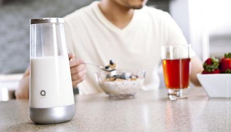 Milkmaid, la jarra que cuida de la leche