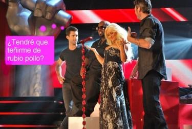 Christina Aguilera eclipsa a quien se ponga por delante en 'The Voice'