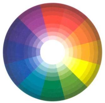 Combinaciones de colores: Contrastada