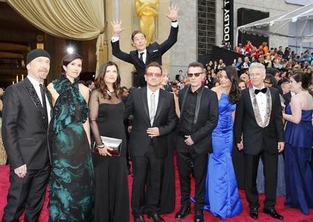 El photobomb de Cumberbatch en los Oscar