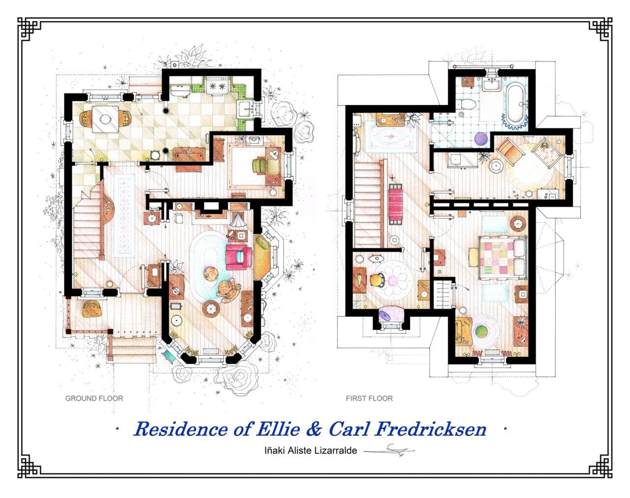 Foto de Planos de apartamentos de series de TV (10/17)