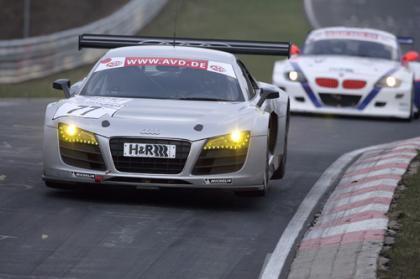 El Audi R8 LMS se estrena en Nurburgring