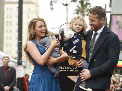 Morir de amor con Ryan Reynolds, Blake Lively y las niñas de sus ojos