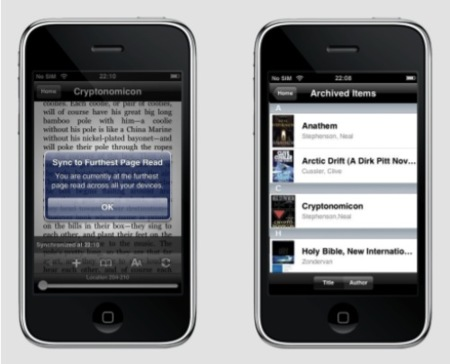 Kindle for iPhone, aplicación para leer los libros de Amazon