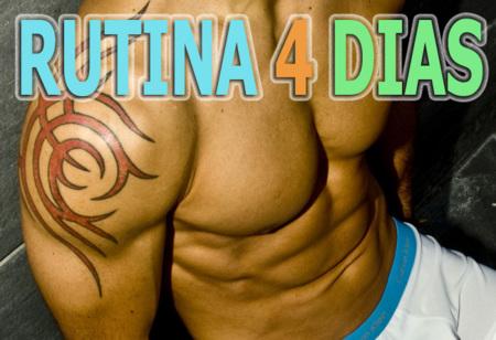 Definición Vitónica 2.0: rutina 4 días - semana 4 (VIII)