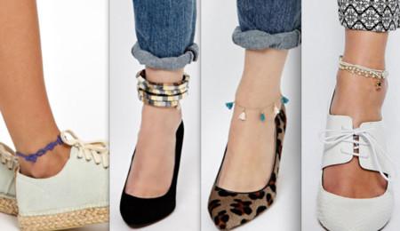 pulsera tobillo tendencia street style