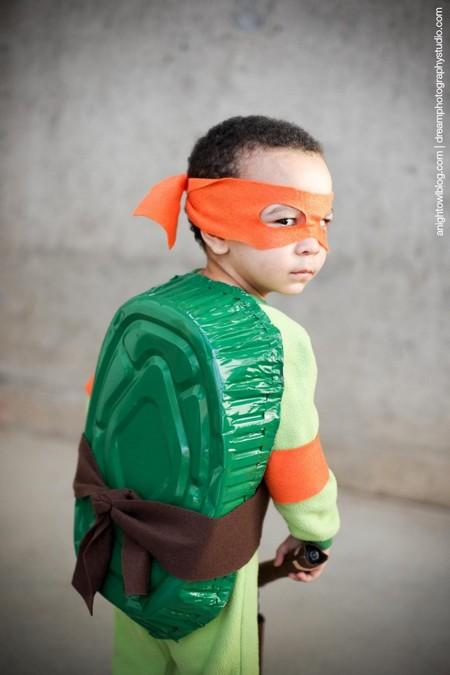 Disfraces Facil Barato Ninos Tortuga Ninja