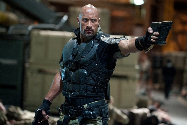Dwayne Johnson en 'G.I. Joe: La película'