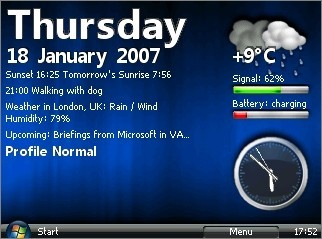 SmartVista, el interfaz de Vista en tu Windows Mobile