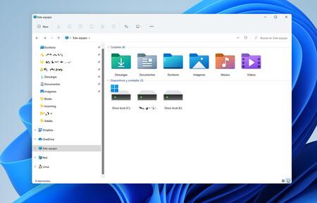 Windows 11 Explorador