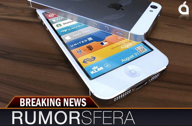 Render del nuevo iPhone