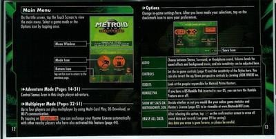 Manual Metroid Prime Hunters