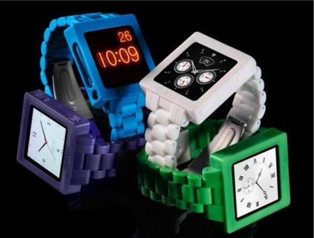 Icon Watch Band, correa de reloj retro tipo Casio para el iPod Nano