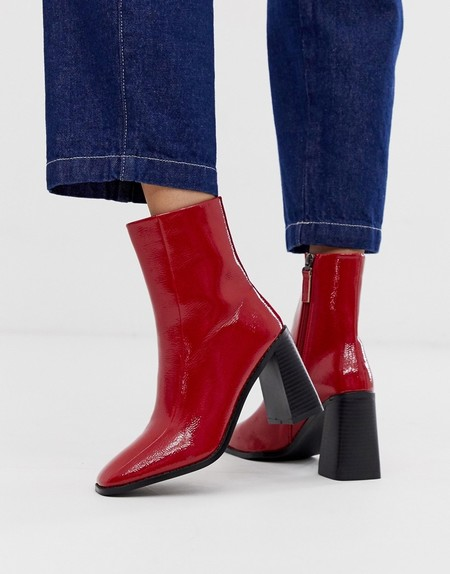 Botas Rojas Mujer 06