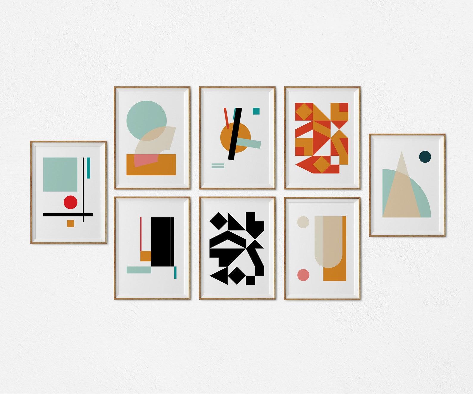 Láminas estilo Mondrian