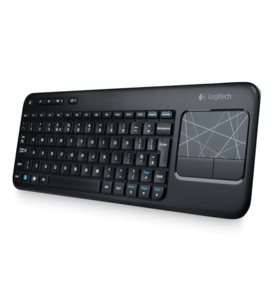 Logitech Wireless Touch Keyboard K400, Teclado y trackpad inalámbrico