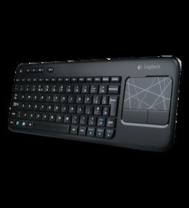 Logitech Wireless Touch Keyboard K400, Teclado y trackpad inalámbrico