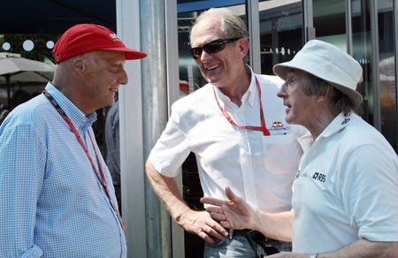 Niki Lauda fue clave en el fichaje de Lewis Hamilton por Mercedes AMG