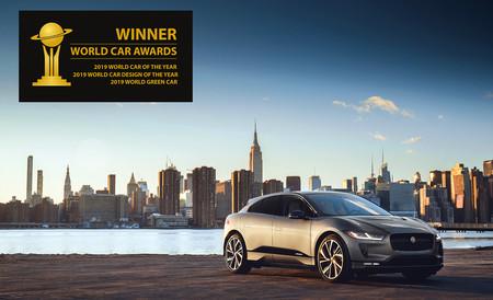 ¡Doblete! El SUV eléctrico Jaguar I-Pace también se convierte en el Coche del Año en el Mundo 2019
