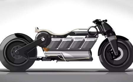 Curtiss Hera: Una moto eléctrica descomunal en configuración V8 con 170 CV y 393 Nm de par motor