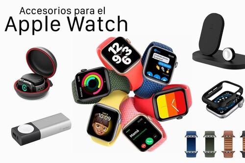 Útiles y baratos: los 16 mejores accesorios para el Apple Watch por menos de 120 euros