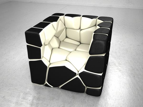 Foto de Vuzzle Chair, la butaca personalizable que me encantaría tener (4/5)